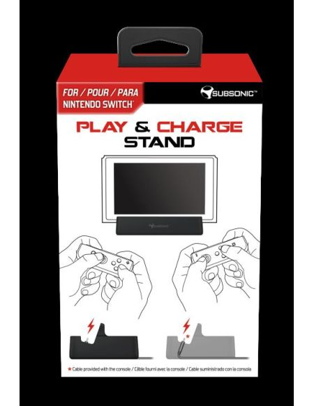 Play & Charge Stand Subsonic pour Nintendo Switch