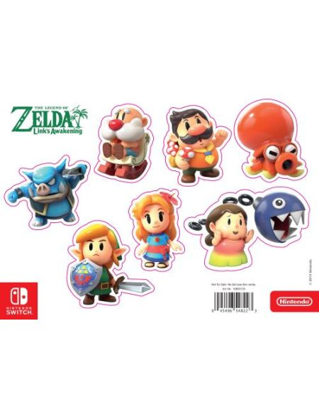 Bonus de commande Magnet The Legend of Zelda Link's Awakening