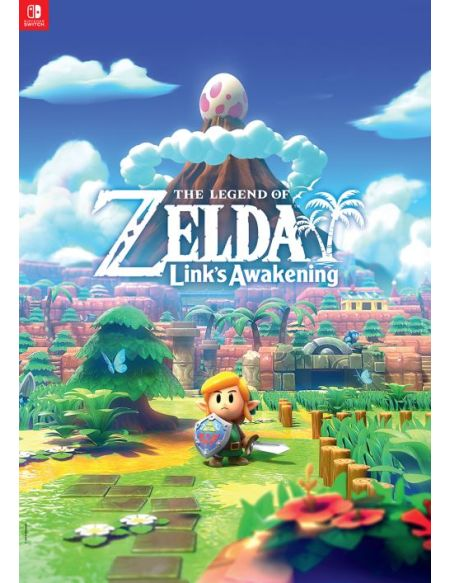 Bonus de commande Poster The Legend of Zelda Link's Awakening