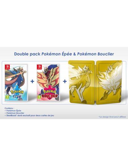 Double Pack Pokémon Epée & Pokémon Bouclier Nintendo Switch