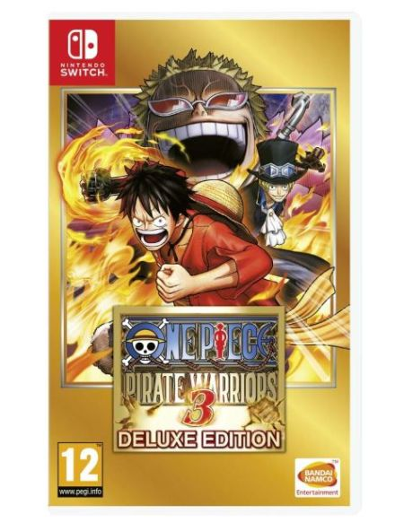 One Piece Pirate Warriors 3 Edition Deluxe Nintendo Switch