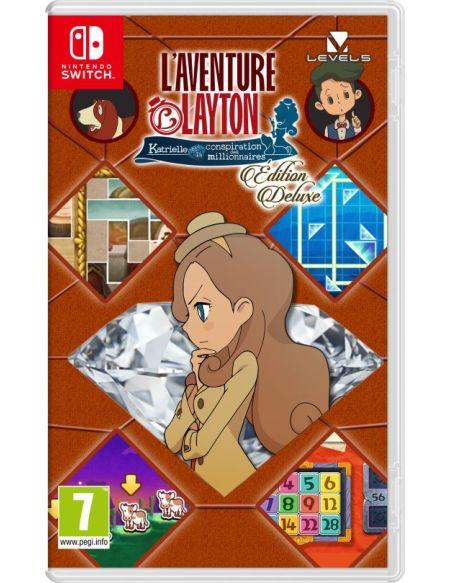LAventure Layton : Katrielle et la conspiration des millionnaires Edition Deluxe Nintendo Switch