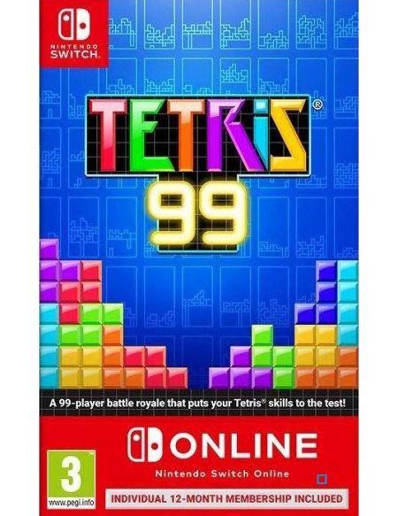 Tetris 99 + Big Block DLC + 12 mois Nintendo Switch Online