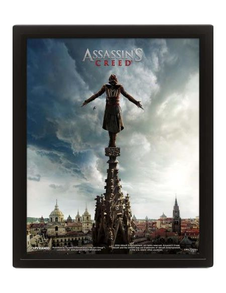 Cadre 3D Lenticulaire Assassin's Creed