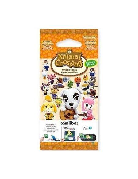 Paquet de 3 Cartes Animal Crossing Série 2