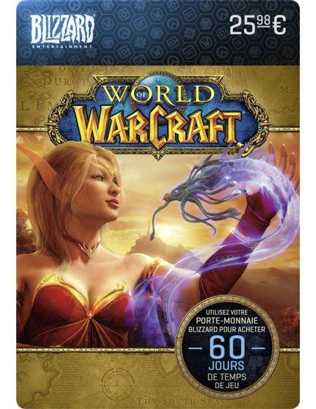 Code de téléchargement Carte Cadeau World of Warcraft : 60 jours de temps de jeu