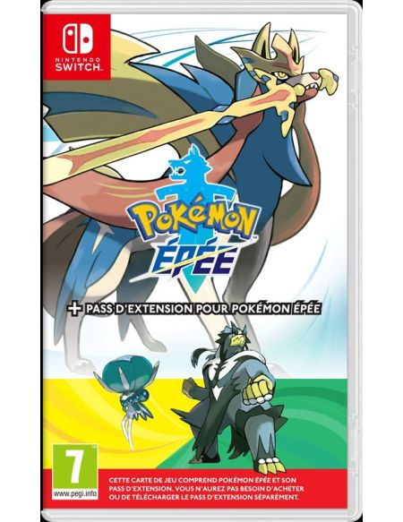Pokémon Epée + Pass d'Expansion pour Nintendo Switch