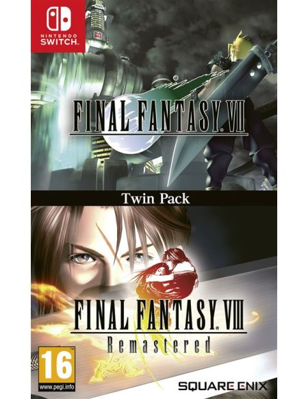 Final Fantasy VII & Final Fantasy VIII Remastered Double Pack Nintendo Switch