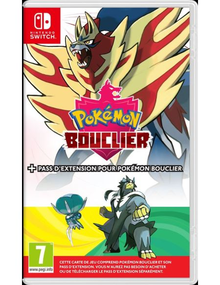 Pokémon Bouclier + Pass d'Expansion pour Nintendo Switch