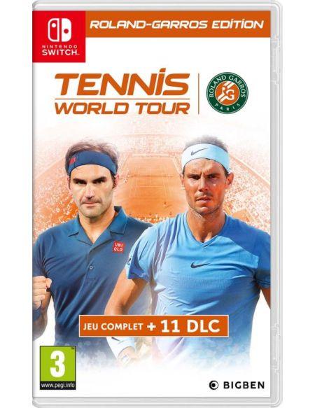 Tennis World Tour Roland Garros Edition Complete Nintendo Switch