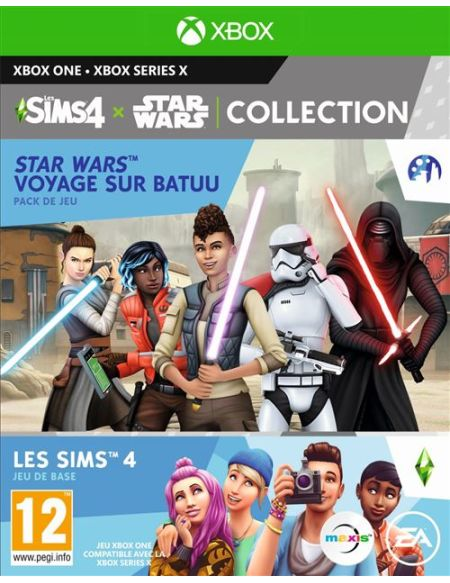 Pack Les Sims 4 + Star Wars: Voyage sur Batuu Xbox One