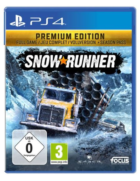 SnowRunner Edition Premium PS4