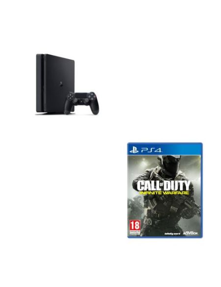 Console Sony PS4 Slim 1 To + Call of Duty Infinite Warfare PS4