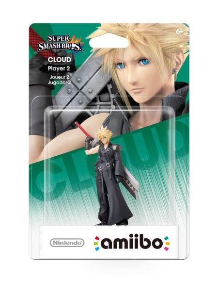 Figurine Amiibo Smash Bros Cloud joueur 2