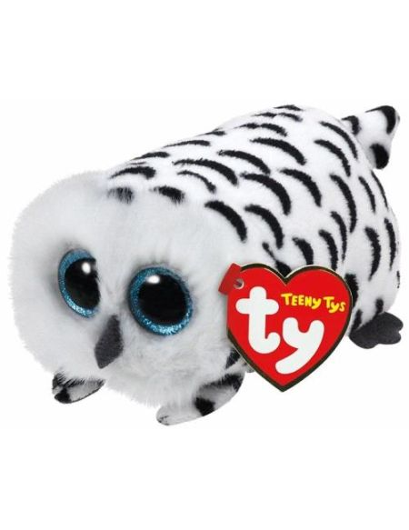 Peluche Chouette Nellie Teeny Tys TY Small 10 cm