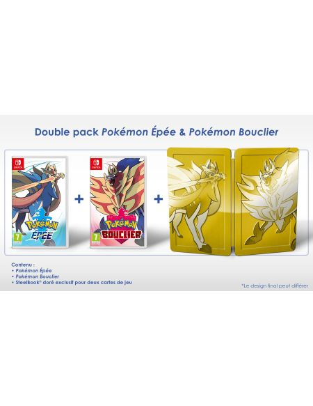 Pokémon épée & Pokémon bouclier Double Pack