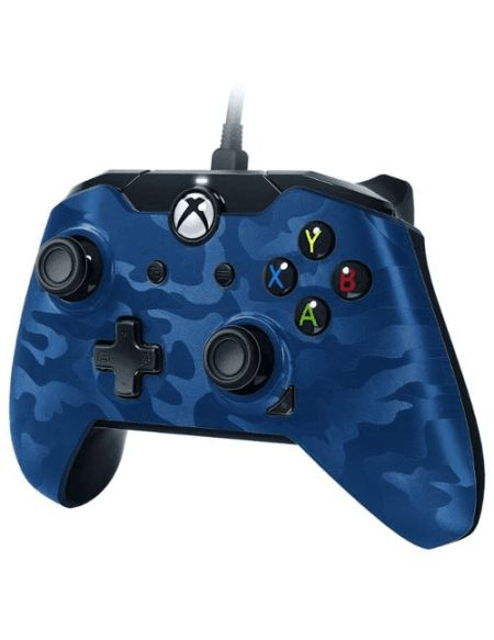 Manette de jeu Xbox One - Camo bleu