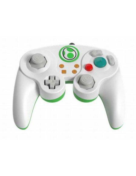 Manette filaire Nintendo Switch Smash Bros | Yoshi