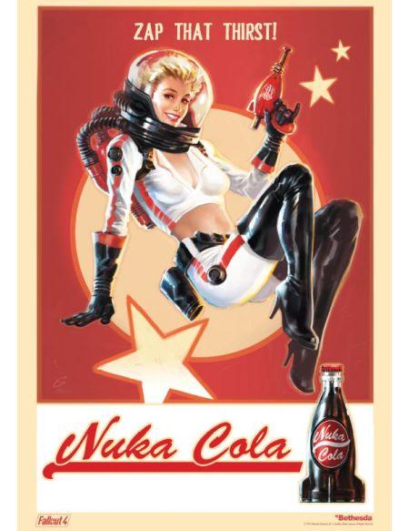 Poster A3 Pin-up Nuka Cola - Goodies Fallout 4 offert pour la précommande du jeu