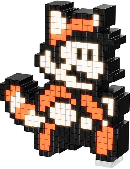 Figurine Pixel Pals - Racoon Mario