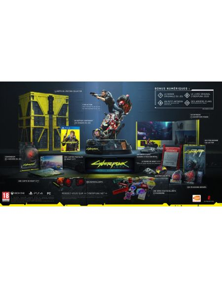 Cyberpunk 2077 | Edition Collector PS4