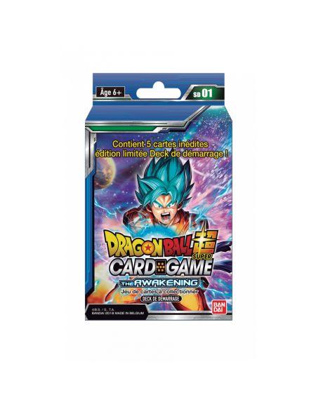 Pack de démarrage Dragon Ball Super - Série 1 - Jeu de cartes à collectionner Dragon Ball