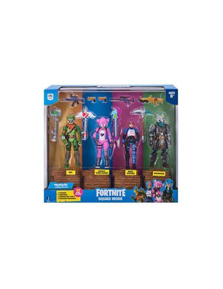 Coffret de 4 figurines Squad mode - Fortnite