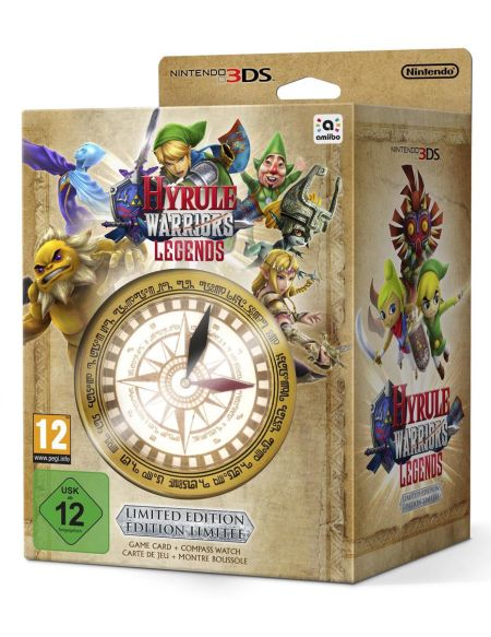 Hyrule Warriors Legends + 1 Montre Boussole (Edition limitée)