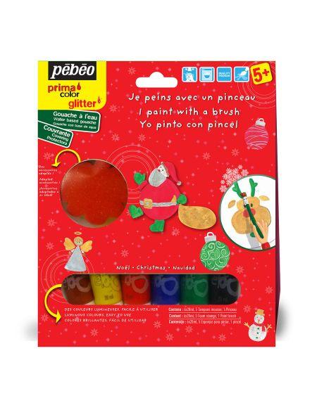 Kit découverte Noël 6x20 ml - Pébéo Primacolor
