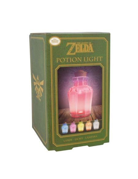 Lampe veilleuse Zelda potion