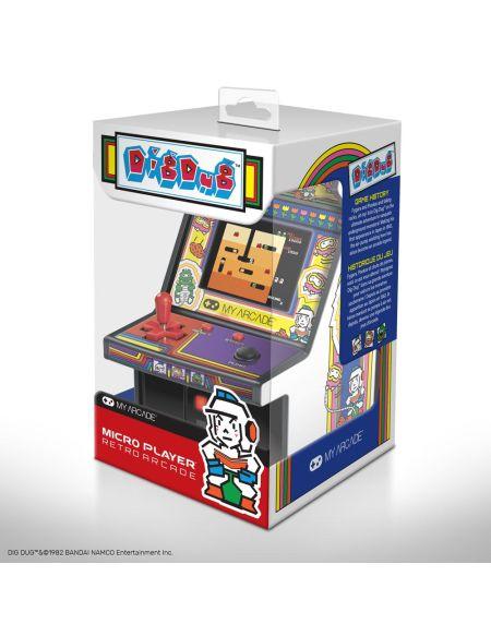 My Arcade - Mini borne d'arcade rétro Dig Dug