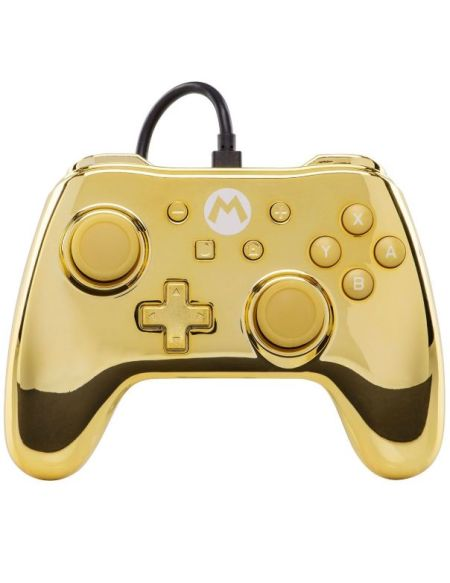 POWER A MANETTE CHROME GOLD