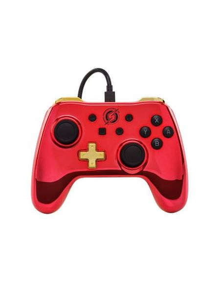 Manette filaire Nintendo Switch Chrome Samus Aran (Metroïd) - Power A