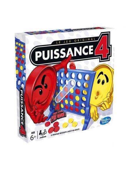 Puissance 4 - Jeu de société Puissance 4 - Jeu de stratégie - Version française.