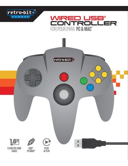 Manette Retro-Bit N64