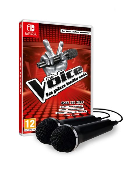 The Voice - Le jeu vidéo officiel + 2 micros - Bundle