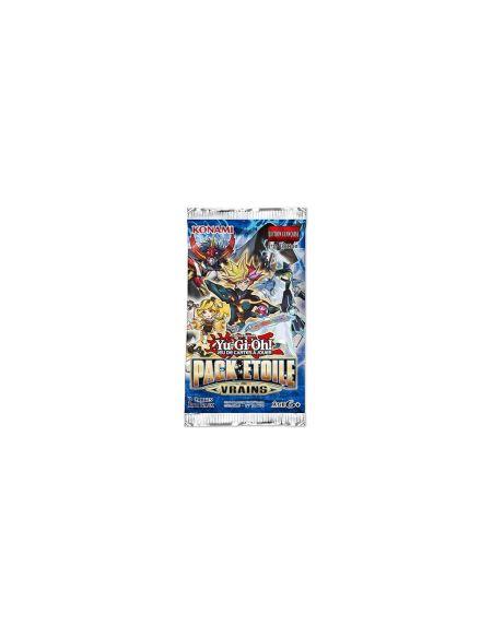 Cartes à jouer Yu-Gi-Oh! Pack étoile VRAINS (contient 3 cartes)
