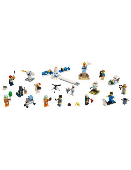 Ensemble de figurines : la recherche et le développement spatiaux