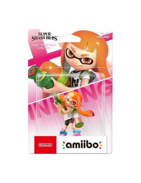 Figurine Amiibo N°64 Smash Fille Inkling