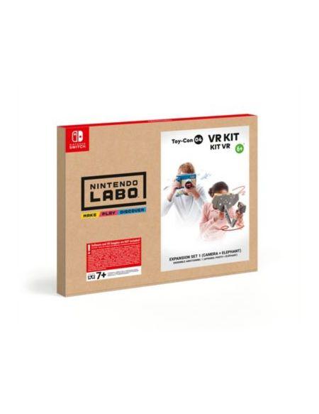 Jeu Switch Nintendo Labo Kit VR Appareil Photo + Eléphant