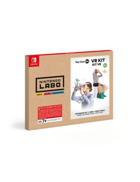 Jeu Switch Nintendo Labo Kit VR Oiseau + Pédale à Vent