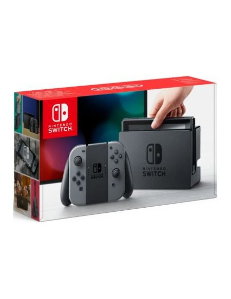 Nintendo Switch + Joy-con gris et 35 Carte eShop