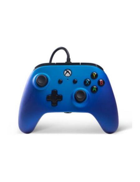 Manette Powera Manette Filaire Xbox One Saphir Bleu