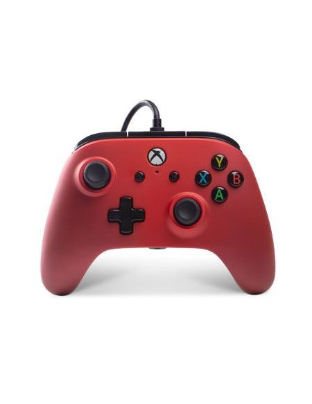 Manette Powera Manette Filaire Xbox One Pourpre Rouge