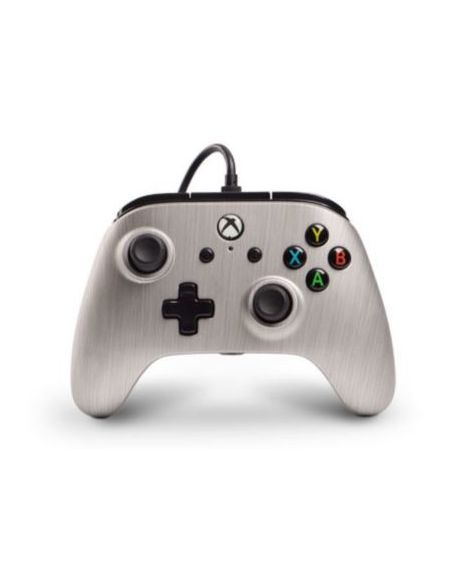 Manette Powera Manette Filaire Xbox One Aluminium