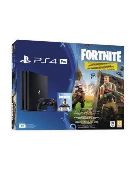 Pack Ps4 Pro 1to Noire + Fortnite Battle Royal