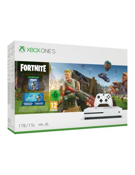 Console Xbox One S Microsoft 1To Fortnite