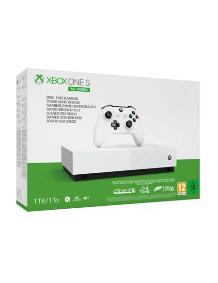 Xbox One S 1 to all Digital Blanc