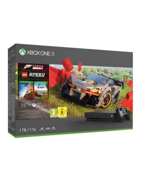 Console Xbox One X Microsoft Xbox One X 1To Forza Horizon 4+DLC Lego