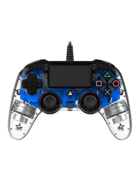 Manette Filaire Officielle Ps4 Clear Blue